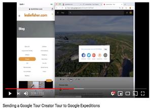 Sending a Google Tour Creator Tour to Google Expeditions