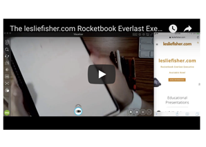 The Rocketbook An Erasable Smart Notebook