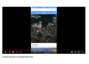 A Quick Overview of Google Street View